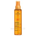 Huile Bronzante Haute Protection Spf30 Nuxe Sun150ml à JUAN-LES-PINS