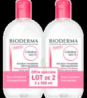 Crealine Ts H2o Solution Micellaire Sans Parfum Nettoyante Apaisante 2fl/500ml à JUAN-LES-PINS
