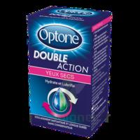 Optone Double Action Solution Oculaire Yeux Secs Fl/10ml à JUAN-LES-PINS