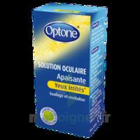 Optone Solution Oculaire Rafraîchissante Yeux Irrités Fl/10ml à JUAN-LES-PINS