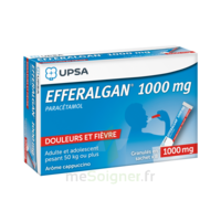 Efferalgan 1g Cappuccino Granules 8 Sachets à JUAN-LES-PINS