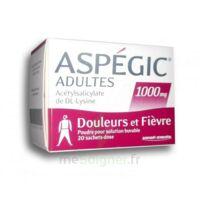 Aspegic Adultes 1000 Mg, Poudre Pour Solution Buvable En Sachet-dose 20 à JUAN-LES-PINS