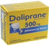 Doliprane 500 Mg Poudre Pour Solution Buvable En Sachet-dose B/12 à JUAN-LES-PINS