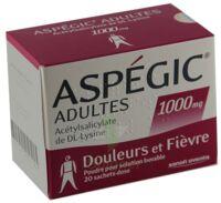 Aspegic Adultes 1000 Mg, Poudre Pour Solution Buvable En Sachet-dose 15 à JUAN-LES-PINS