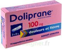 Doliprane 100 Mg Suppositoires Sécables 2plq/5 (10) à JUAN-LES-PINS