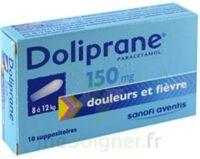 Doliprane 150 Mg Suppositoires 2plq/5 (10) à JUAN-LES-PINS