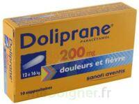 Doliprane 200 Mg Suppositoires 2plq/5 (10) à JUAN-LES-PINS