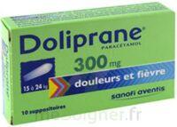 Doliprane 300 Mg Suppositoires 2plq/5 (10) à JUAN-LES-PINS