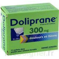 Doliprane 300 Mg Poudre Pour Solution Buvable En Sachet-dose B/12 à JUAN-LES-PINS