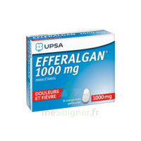 Efferalgan 1000 Mg Comprimés Pelliculés Plq/8 à JUAN-LES-PINS