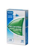 Nicorette 2 Mg Gom à Mâcher Médic Sans Sucre Menthe Glaciale Plq/30gom à JUAN-LES-PINS