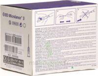 Bd Microlance 3, G22 1 1/4, 0,7 Mm X 30 Mm, Noir  à JUAN-LES-PINS