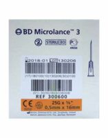 Bd Microlance 3, G25 5/8, 0,5 Mm X 16 Mm, Orange  à JUAN-LES-PINS