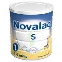Novalac S 1 Lait En Poudre Satiétant 1er âge B/800g à JUAN-LES-PINS