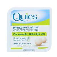 Quies Protection Auditive Cire Naturelle 8 Paires à JUAN-LES-PINS