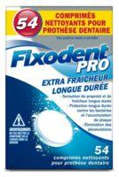 Fixodent Pro Comprimés Nettoyant Fraîcheur Longue Durée Pour Prothèse Dentaire B/54 à JUAN-LES-PINS