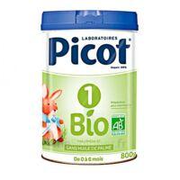 Picot Bio 1 Lait Poudre B/800g à JUAN-LES-PINS