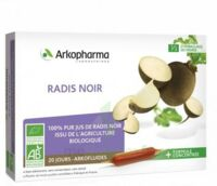 Arkofluide Bio Ultraextract Radis Noir Solution Buvable 20 Ampoules/10ml à JUAN-LES-PINS