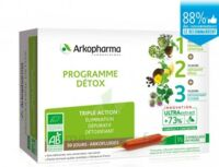 Arkofluide Bio Ultraextract Coffret Programme Détox 3x10 Ampoules/10ml à JUAN-LES-PINS