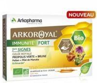 Arkoroyal Immunité Fort Solution Buvable 20 Ampoules/10ml à JUAN-LES-PINS