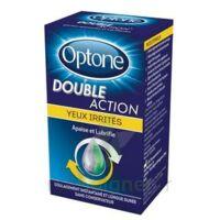 Optone Double Action Solution Oculaire Yeux Irrités Fl/10ml à JUAN-LES-PINS