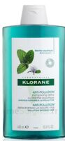 Klorane Menthe Aquatique Shampooing Détox 400ml à JUAN-LES-PINS