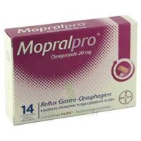 Mopralpro 20 Mg Cpr Gastro-rés Film/14 à JUAN-LES-PINS