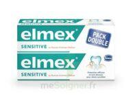 Elmex Sensitive Dentifrice, Tube 75 Ml, Pack 2 à JUAN-LES-PINS