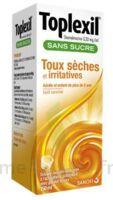 Toplexil 0,33 Mg/ml Sans Sucre Solution Buvable 150ml à JUAN-LES-PINS