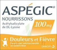 Aspegic Nourrissons 100 Mg, Poudre Pour Solution Buvable En Sachet-dose à JUAN-LES-PINS