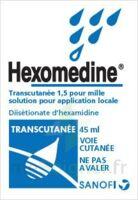 Hexomedine Transcutanee 1,5 Pour Mille, Solution Pour Application Locale à JUAN-LES-PINS