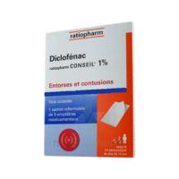 Diclofenac Ratiopharm Conseil 1 %, Emplâtre Médicamenteux à JUAN-LES-PINS