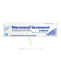 Normacol Lavement Enfants, Solution Rectale, Récipient Unidose à JUAN-LES-PINS