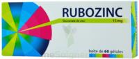Rubozinc 15 Mg Gél 1plq/60 à JUAN-LES-PINS
