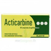 Acticarbine Comprimés Enrobés B/84 à JUAN-LES-PINS