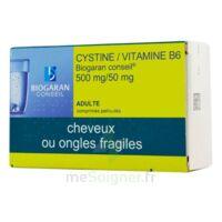 Cystine/vitamine B6 Biogaran Conseil 500 Mg/50 Mg Cpr Pell Plq/120 à JUAN-LES-PINS