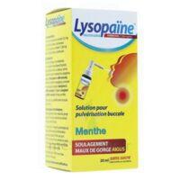 LysopaÏne Ambroxol 17,86 Mg/ml Solution Pour Pulvérisation Buccale Maux De Gorge Sans Sucre Menthe Fl/20ml à JUAN-LES-PINS