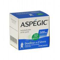 Aspegic 500 Mg, Poudre Pour Solution Buvable En Sachet-dose 30 à JUAN-LES-PINS