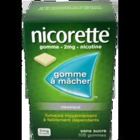 Nicorette 2 Mg Gom à Mâcher Médic Sans Sucre Menthe Fraîche Plq/105gom à JUAN-LES-PINS