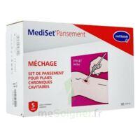 Mediset® Set De Pansement Plaie Chronique Méchage - Boîte De 5 Soins à JUAN-LES-PINS