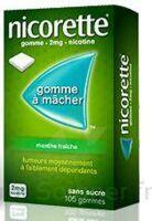 Nicorette 2 Mg Gom à Mâcher Médic Sans Sucre Menthe Fraîche Plq/30gom à JUAN-LES-PINS