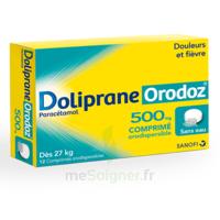 Dolipraneorodoz 500 Mg, Comprimé Orodispersible à JUAN-LES-PINS