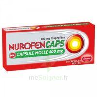 Nurofencaps 400 Mg Caps Molle Plq/10 à JUAN-LES-PINS