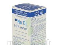 Sodium 0,9% Lav Inj Fv125ml 1 à JUAN-LES-PINS