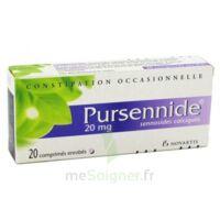 Pursennide 20 Mg, Comprimé Enrobé à JUAN-LES-PINS