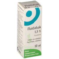 Fluidabak 1,5 %, Collyre En Solution à JUAN-LES-PINS