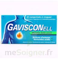 Gavisconell Coprimés à Croquer Sans Sucre Menthe édulcoré à L'aspartam Et à L'acésulfame Potas Plq/24 à JUAN-LES-PINS