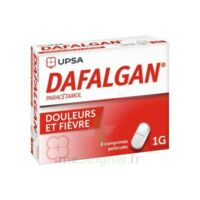 Dafalgan 1000 Mg Comprimés Pelliculés Plq/8