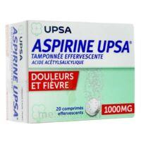Aspirine Upsa Tamponnee Effervescente 1000 Mg, Comprimé Effervescent à JUAN-LES-PINS