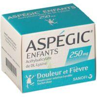 Aspegic Enfants 250, Poudre Pour Solution Buvable En Sachet-dose à JUAN-LES-PINS